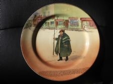 "VINTAGE 10.25"" PLATE ROYAL DOULTON DICKENS SERIES TONY WELLER D5175 F BLUSH"